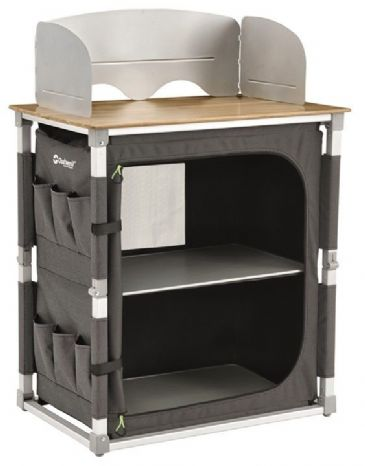 Sunncamp Clip Camping Furniture Storage Units Black Or